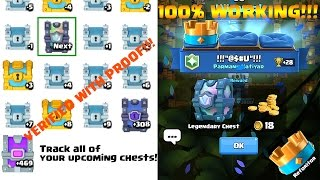 Clash Royale chest tracker  Track Legendary, Epic and Super Magical chest  STATSROYALE.COM