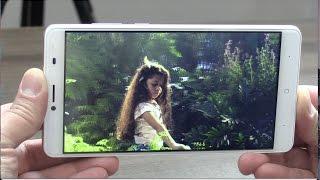 Tableta / celular con pantalla 3D sin lentes
