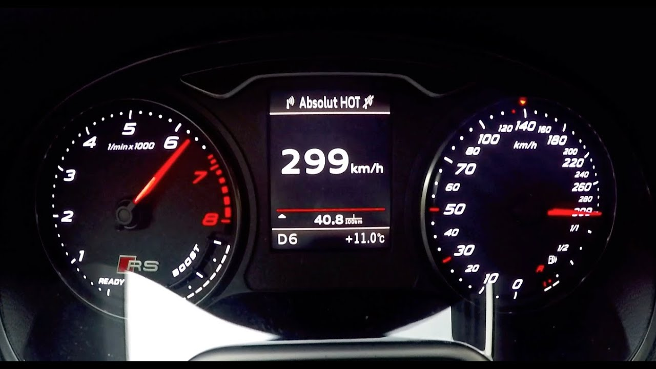 2015 Abt Audi Rs3 300 Km H Acceleration Autobahn
