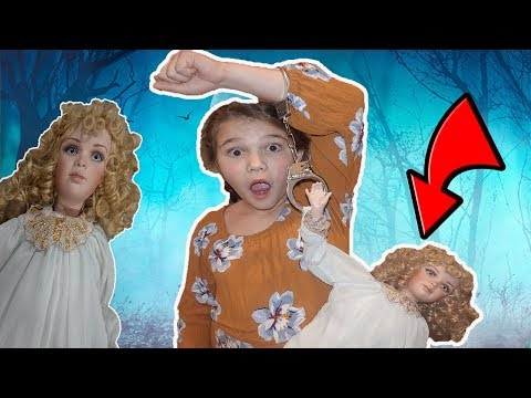 Hancuffed To The DOLL MAKER For 24 Hours!