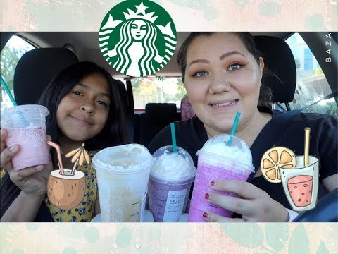 Starbucks Happy Hour! | Trying New Drinks