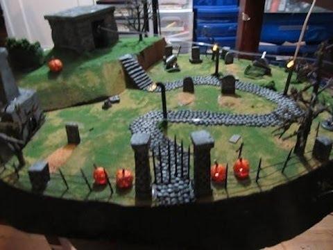 interactive halloween diorama - Halloween Diorama Ideas