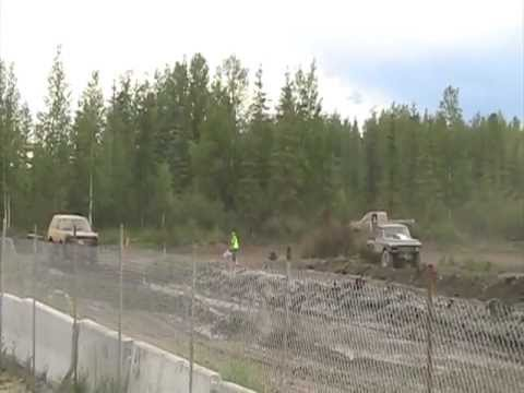 North Pole Speedway Mud drags Conrad Michlig In Grey Ghost runs 2-3, 7.14.12.mpg