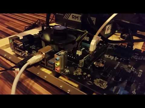 Ethereum Mining Rig With AMD Radeon Asus Strix R7 370 4GB