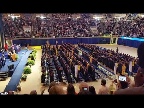 WVU College of Engineering Commencement 2016 Country Roads