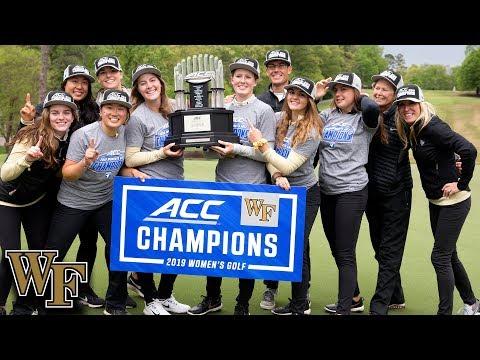 Wake Forest Wins 2019 ACC Women's Golf Championship