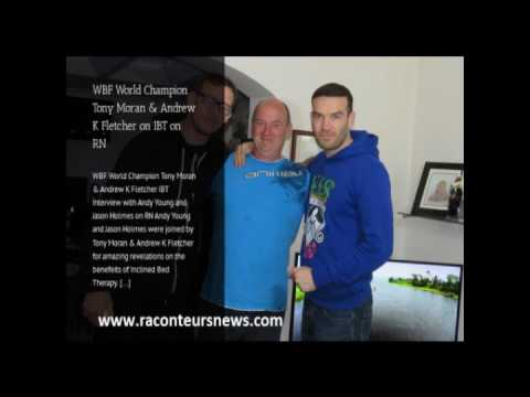 Tony Moran & Andrew K Fletcher Interview With Andy Young And Jason Holmes On RN.