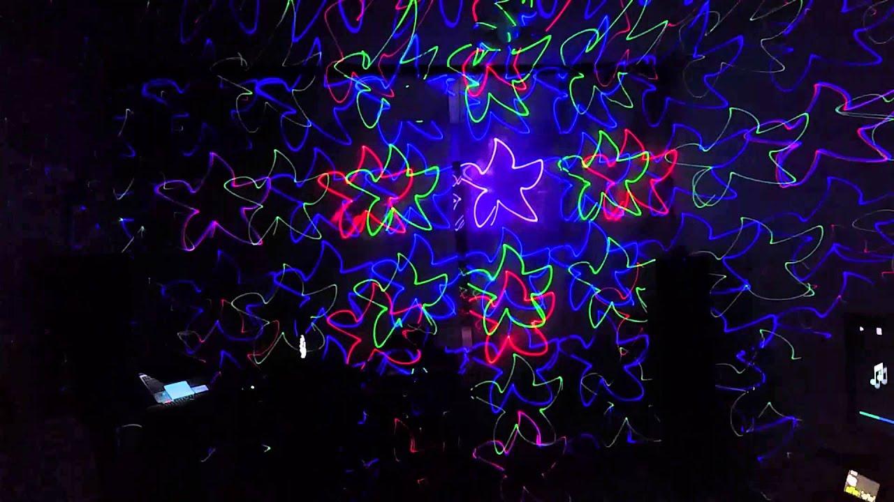 Лазерная светомузыка