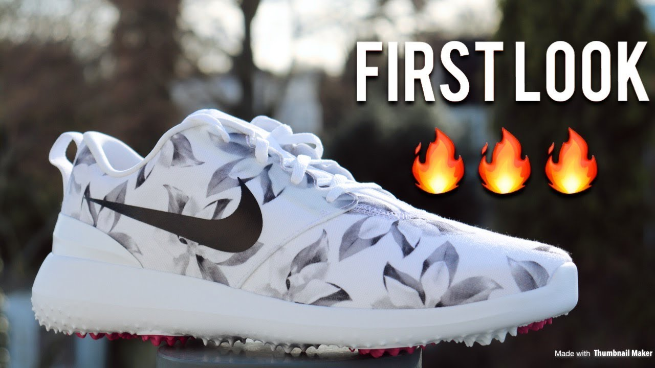 nike roshe golf shoe