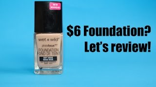 foundation review   wet n wild photo focus   oily acne skin