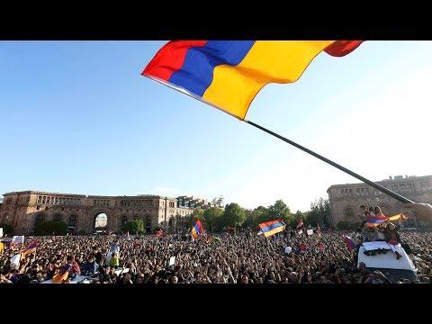 Ереван: марш оппозиции в