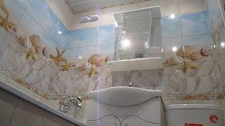 Оздоблення стін у ванній за 1 день пластиковими панелями. Недорогий ремонт у ванній своїми руками!