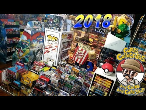 CARLS COLLECTIBLES NEW STORE OPENING OF 2018!! THE RAREST POKEMON CARDS & MOST TOYS! BEST SHOP EVER!