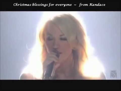 Carrie Underwood - OH HOLY NIGHT - live - Happy Christmas Blessings