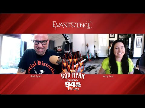 ROD WITH AMY LEE OF EVANESCENCE (94.5 THE BUZZ)