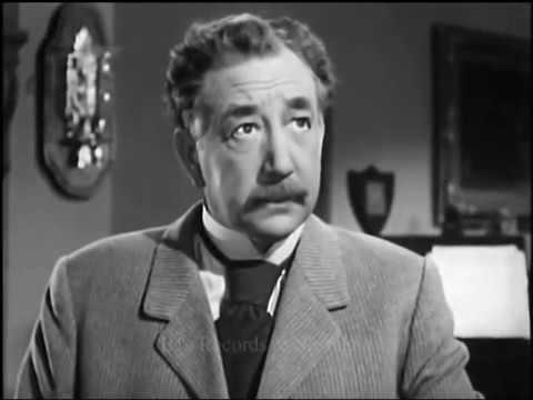 SHERLOCK HOLMES 1949 Television Episode Component 1 Of 2 Starring Alan Napier From Sequence Batman &