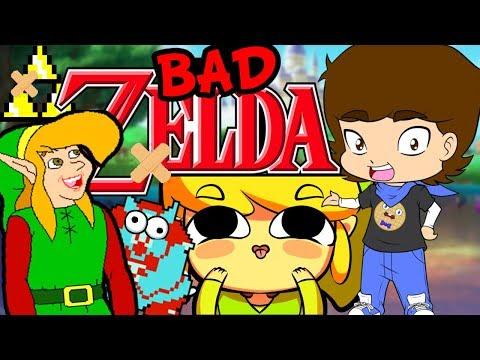 BAD Legend of Zelda Games - ConnerTheWaffle