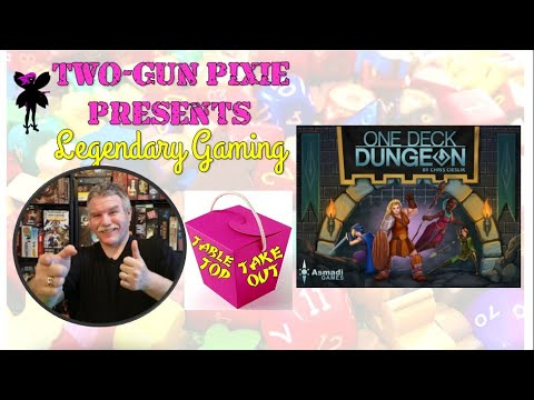 Tabletop Takeout 012 - One Deck Dungeon by Asmadi Games  