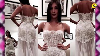 Solenn Heussaff's Magnificently Simple Wedding Gown