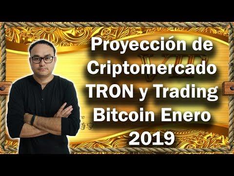 Criptomonedas Trading, Proyección de Criptomercado TRON y Trading Bitcoin   BITCOIN V149