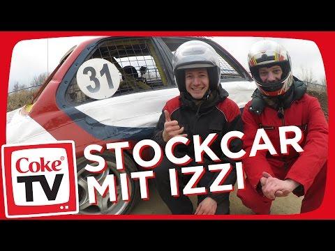 izzi im Matschbox Auto   #CokeTVMoment