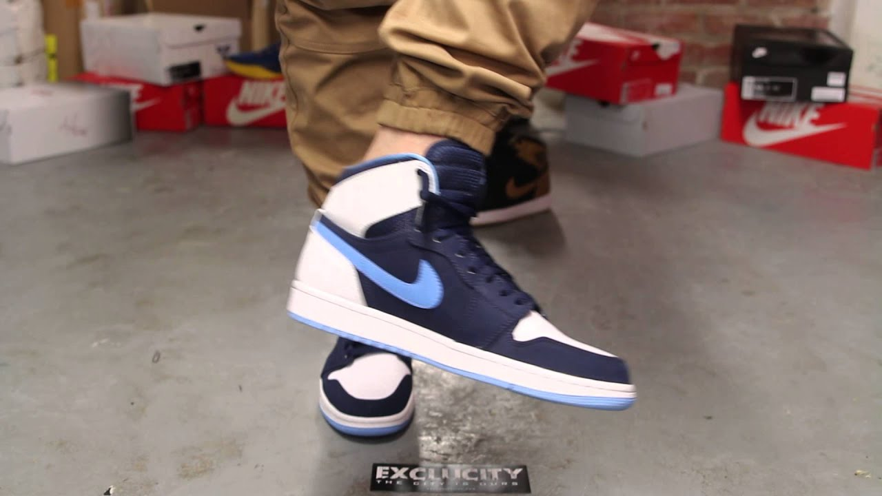 new concept 075a1 3fe76 ... coupon code for air jordan 1 retro high cp3 on feet video at exclucity  youtube e0ad4