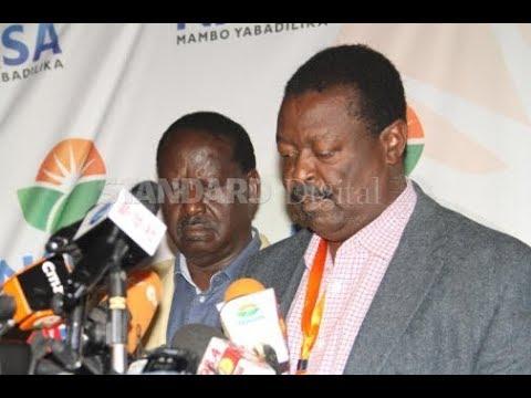 NASA to communicate new date for Raila Odinga's inauguration ceremony