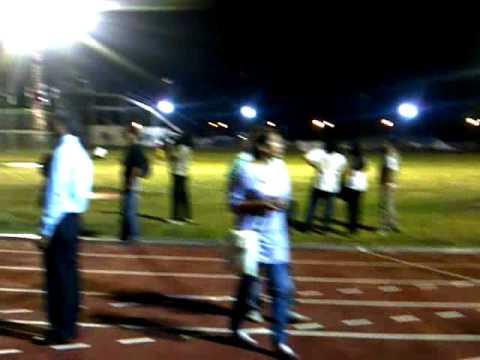 Pista de atletismo en Santiago del Estero (05/10/11)