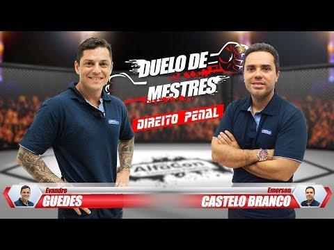 Evandro Guedes vs Emerson C. Branco - Duelo de Mestres - Direito Penal - Aula Gratuita - AlfaCon