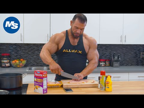 What Bodybuilders Eat Post-Workout | Steve Kuclo in the M&S Kitchen