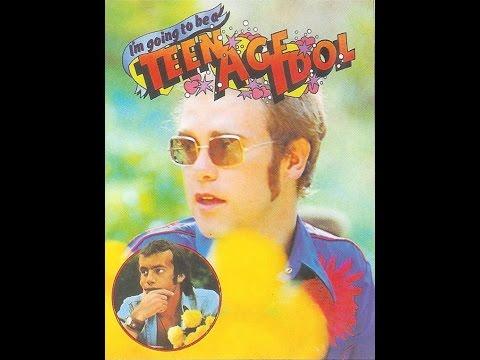 Elton John - I'm Going to be a Teenage Idol (1972) With Lyrics!