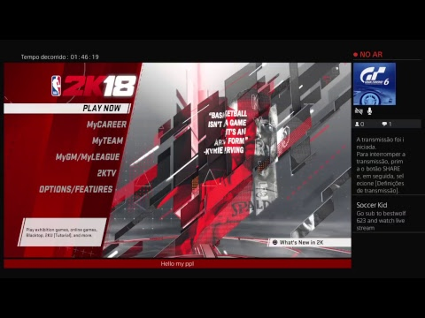 NBA2K18_Welkom to stop and see my game !_! ?_?
