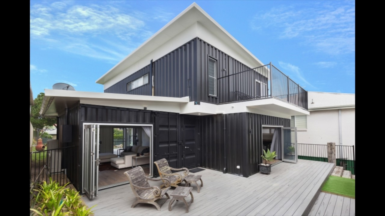 High end container home in sydney youtube for High end home plans