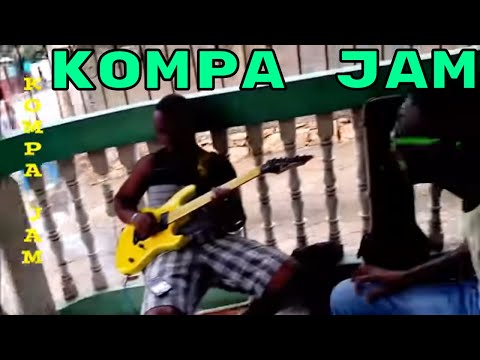 HAITIAN KOMPA KEYBOARD and GUITAR JAM (Limonade, Cap Haïtien - January 2015)
