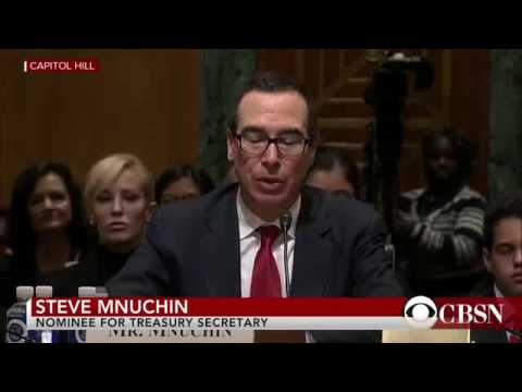 Steve Mnuchin grilled about potential offshore tax havens