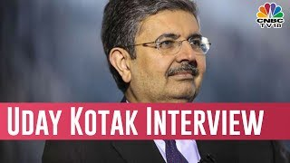 Uday Kotak Interview Excclusive On CNBC TV18