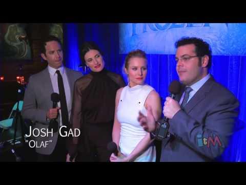 Frozen stars sing live in Disney music celebration   Idina Menzel, Kristen Bell, Josh Gad