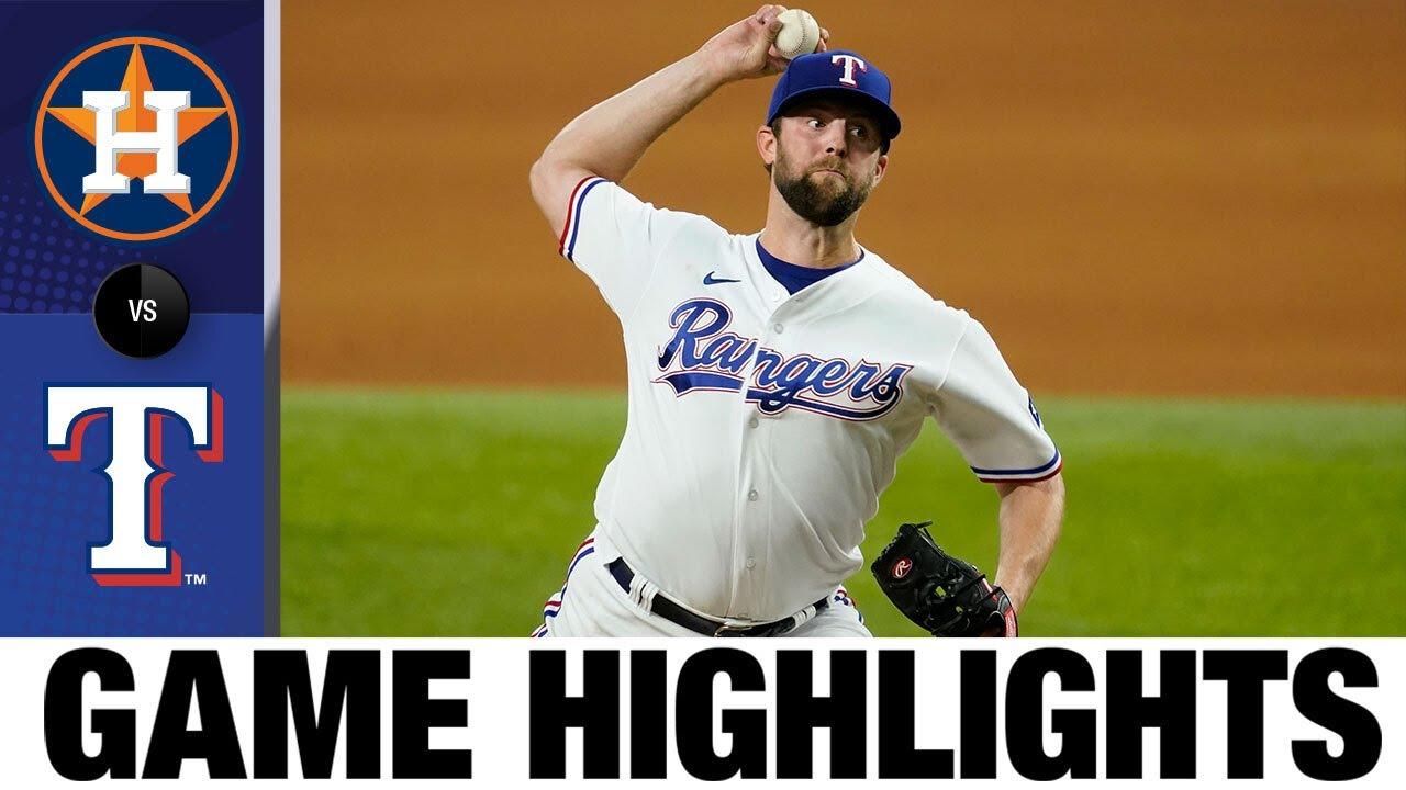 Download Astros vs. Rangers Game Highlights (9/14/21) | MLB Highlights