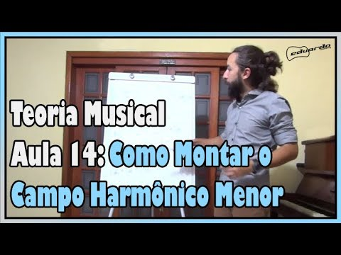 Curso De Teoria Musical - Aula 14: Como Montar O Campo Harmônico Menor L Aula #107