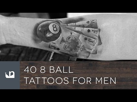 40 8 Ball Tattoos For Men