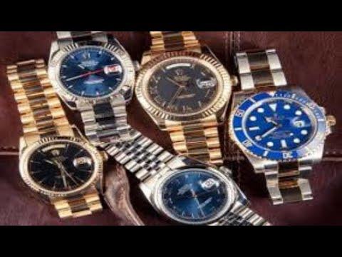 b4413c9fb طريقة معرفة ساعة رولكس الاصليه من التقليد - YouTube