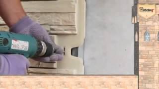 Установка панелей цокольного сайдинга Деке Р(, 2015-09-08T20:35:02.000Z)