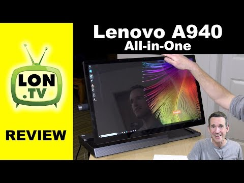 Lenovo A940 Desktop All-in-One Review - 4k Touch Display, AMD GPU, And Pen Support