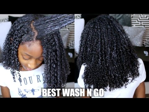 The Perfect Defined Wash And Go Method (Type 4 Hair)