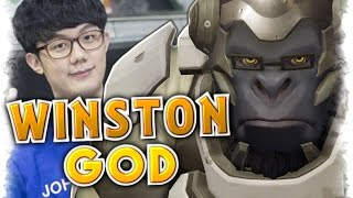 Best Winston Player Miro [#1World Winston] Moments Montage |Overwatch Best of Miro Winston God Plays