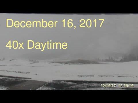 December 16, 2017 Upper Geyser Basin Daytime Streaming Camera Captures