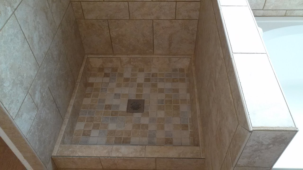 Retile A Shower Floor Zef Jam
