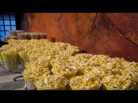 Как делают попкорн в кинотеатре