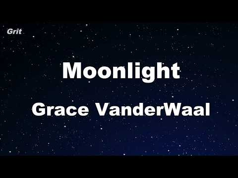 Moonlight - Grace VanderWaal Karaoke 【No Guide Melody】 Instrumental