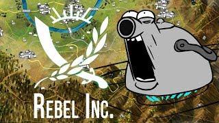 """ОПЕРАЦИЯ """"Степная прожарОчка"""" НА МАКСИМАЛЬНОЙ СЛОЖНОСТИ ► Rebel Inc.  5  Прохождение"""